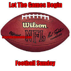 Let The Games Begin  Football Sunday