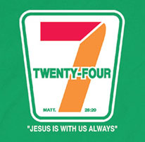 jesus is with us always twenty four seven