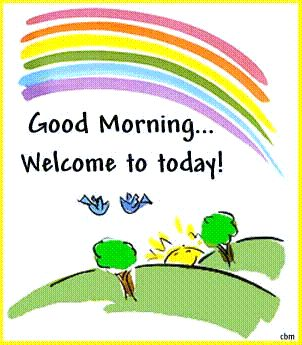 good morning welcome to today