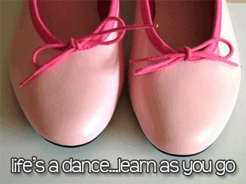 life's a dance learn as you go