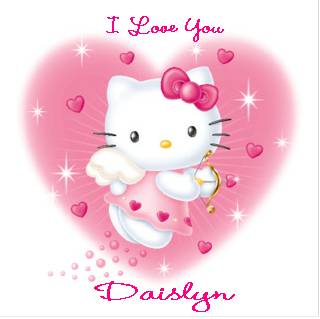 i love you hello kitty
