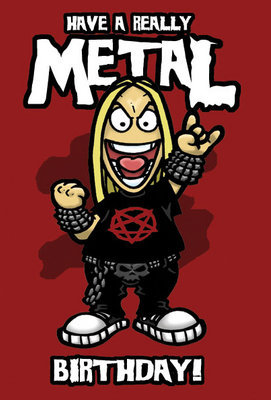 have a really metal birthday