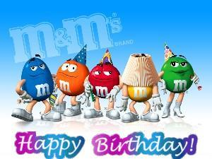 m&m's happy 