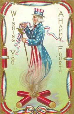 Wishing you a happy fourth of july