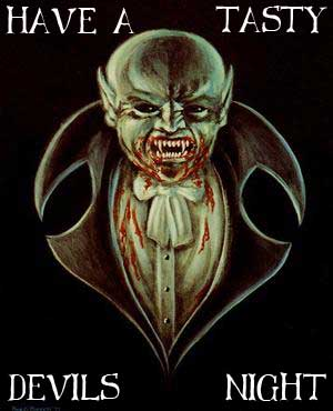 have a tasty devils night