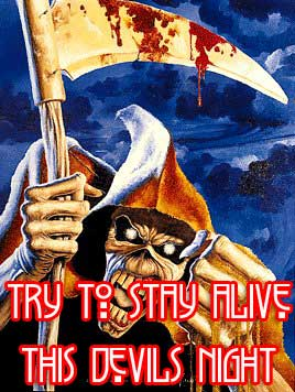 try to say alive this devils night