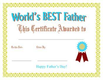 world's best father