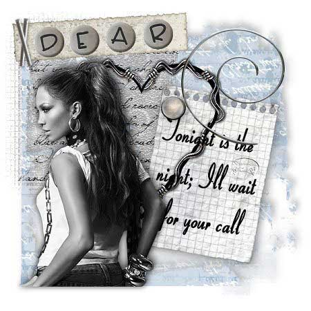 dear tonight is the night ill wait for your call