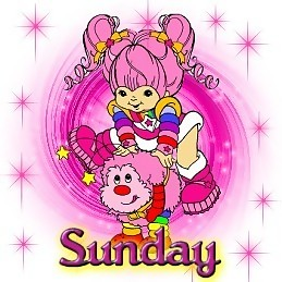 sunday - rainbow brite