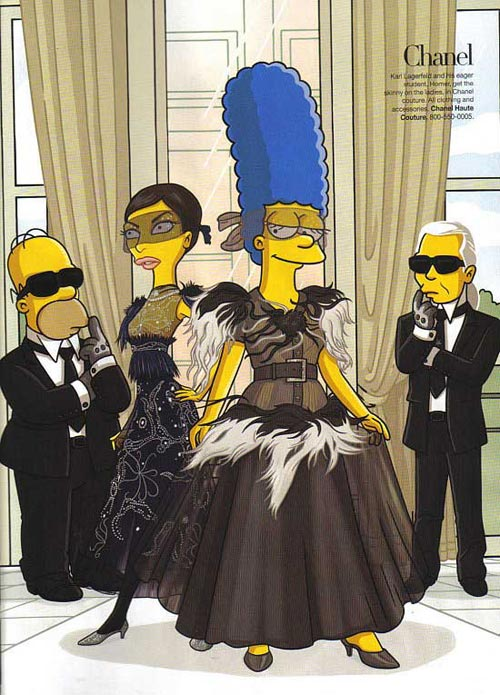 the simpsons chanel