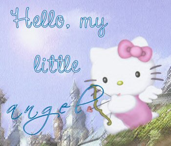 hello my angel hello kitty