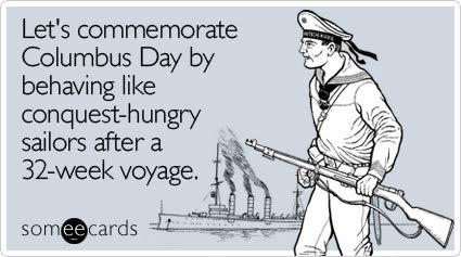 lets commemorate columbus day