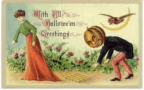 with all halloween greetings