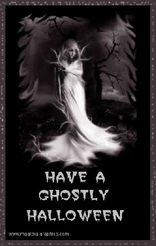 have a ghostly halloween