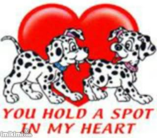 you hold a spot in my heart