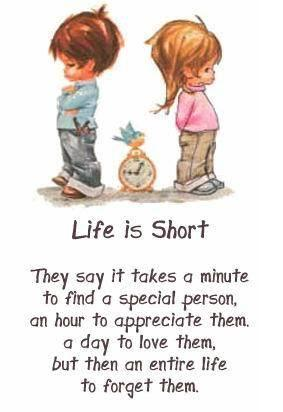 life is short quotes