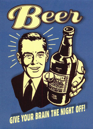beer - give your brain the night off