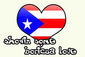 showin some boricua love