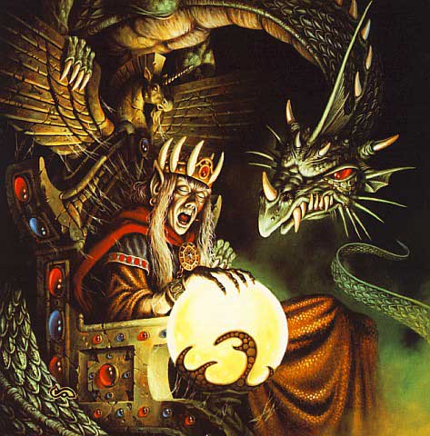 dragonlance green dragon raistlen