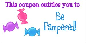 be pampered coupon