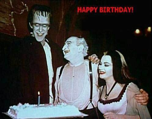 happy birthday munsters
