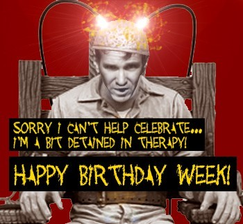 happy birthday week electric chair