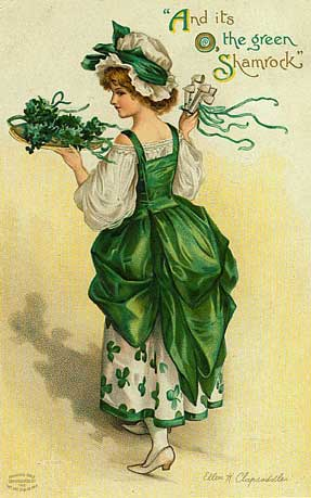 and its o the green shamrock