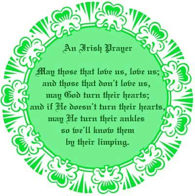 an irish prayer