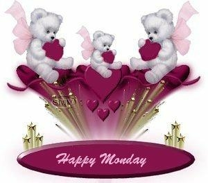 happy monday teddy bears