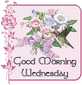good morning wednesday