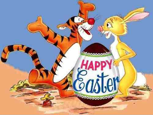 happy easter tigger