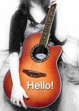 hello acoustic guitar