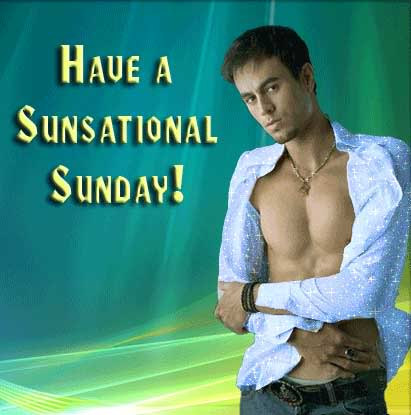 have a sensational sunday