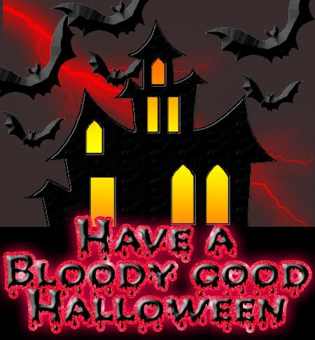 have a bloody good halloween
