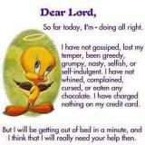 TWEETY PRAYER