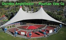 Shoreline Amphitheater - Mountain View, Ca.
