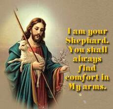 i am your shepard you shall always find comfort in my arms