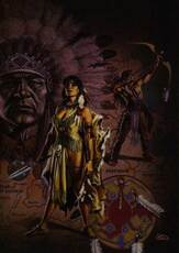 native american fantasy art