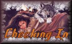 Checking in - wolf
