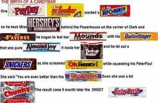 the birth of a candy bar