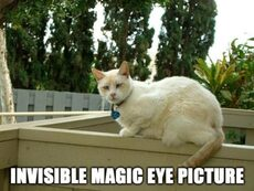 invisible magic eye picture