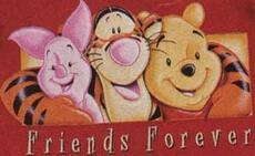 friends forever piglet winnie the pooh tigger