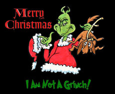 merry christmas i am not a grinch