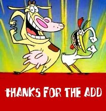 thanks for the add cow and chicken
