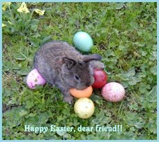 happy easter dear friend