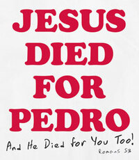 jesus died for pedro