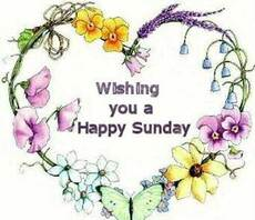 wishing you a happy sunday