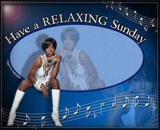 have a relaxing sunday